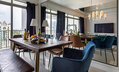 Dining room at Commontown Metropolitan