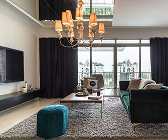 Living room at Commontown Metropolitan